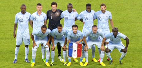 Bleus Belgique France