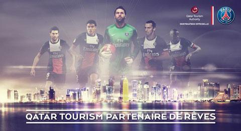 PSG Qatar Tourism Authority
