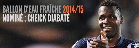 Ballon d'Eau fraîche 2014/2015 Diabate