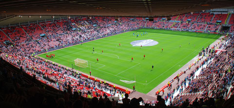 Sunderland Stadium of Light supporters