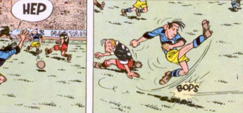 Neuf footballeurs du neuvième art - Les Cahiers du football