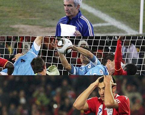 Coupe du monde 2010 refaisons l 39 histoire les cahiers du football - Penalty coupe du monde 2010 ...